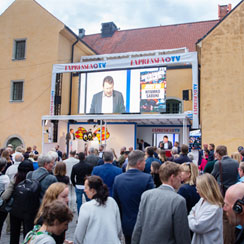 The Almedalen political week: Outstanding coverage and presence