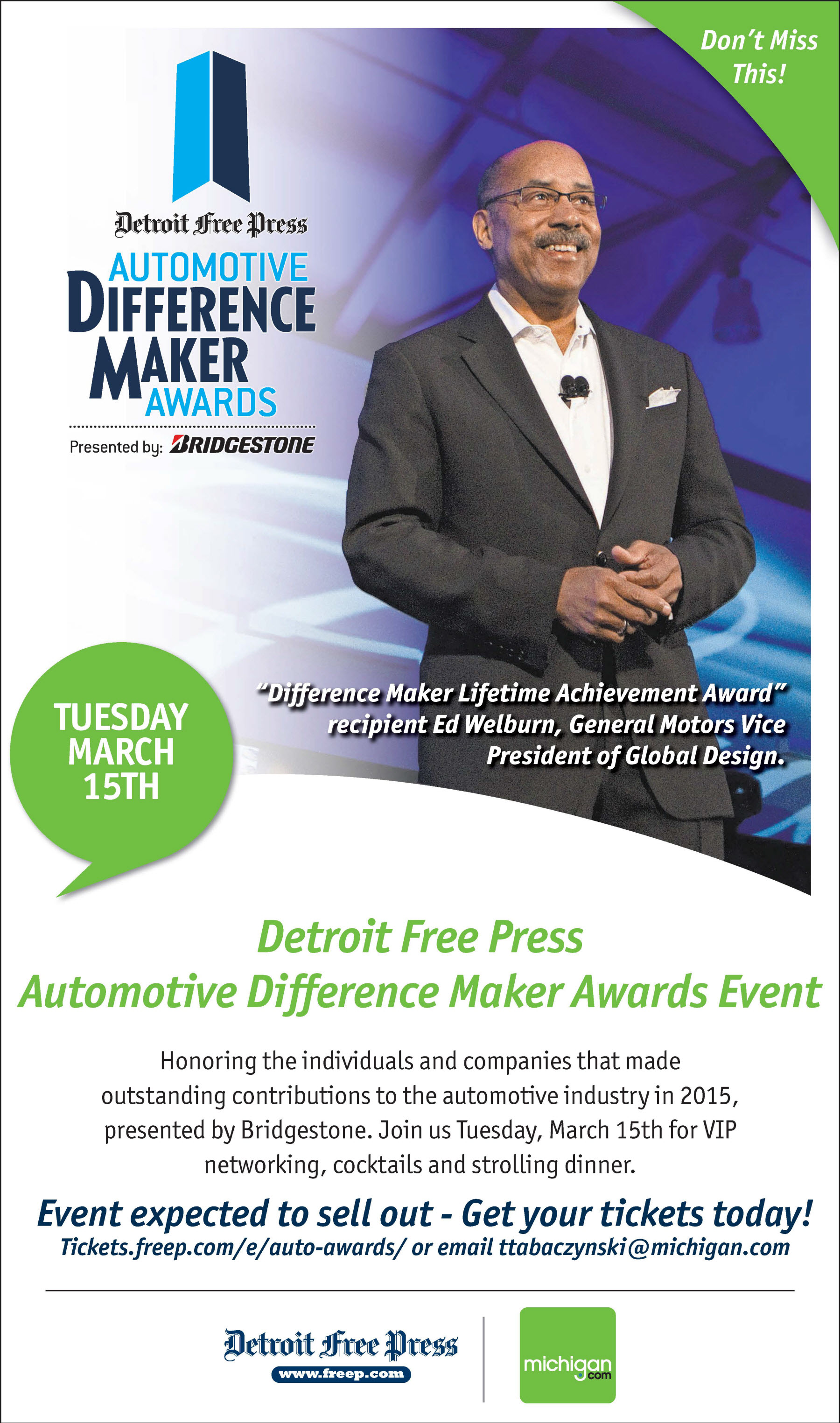 The 2016 Detroit Free Press Automotive Difference Makers Awards