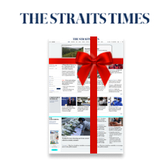 """The Straits Times'  """"Gift an Article"""" Feature"""