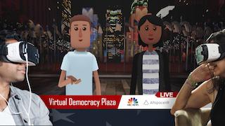 Virtual Democracy Plaza