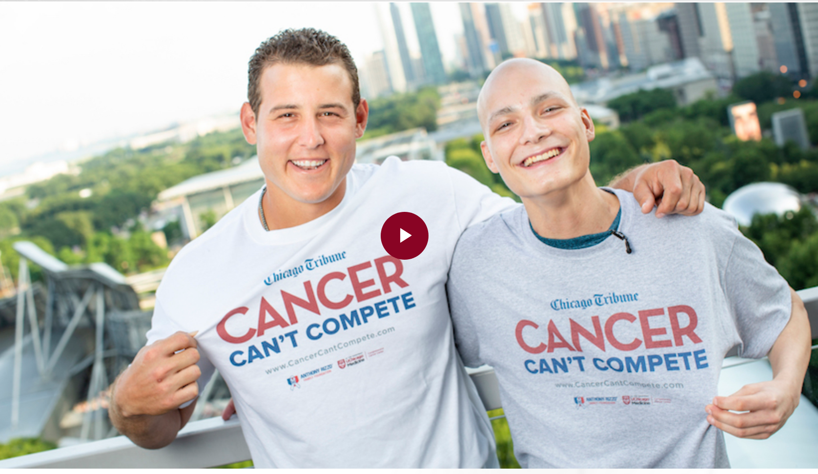 """""""Cancer Can't Compete"""" for University of Chicago Medicine"""
