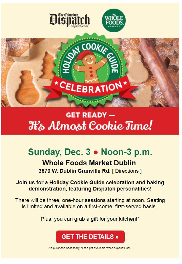 Annual Holiday Cookie Celebration Event