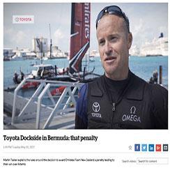 Toyota Dockside in Bermuda