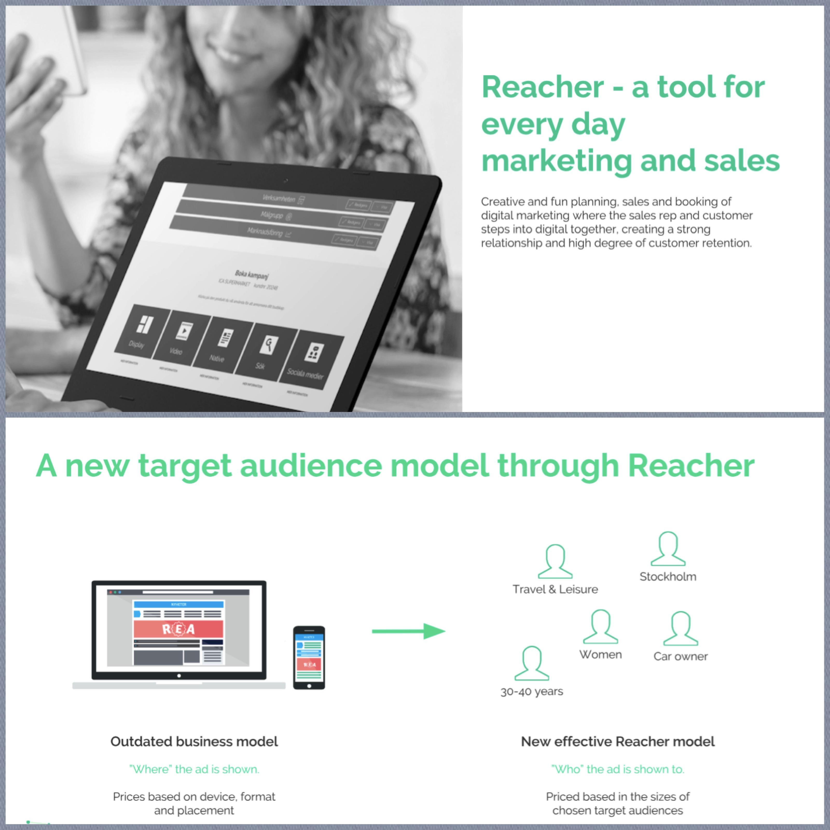 INMA: Best Practice - The Mittmedia Reacher Advertising