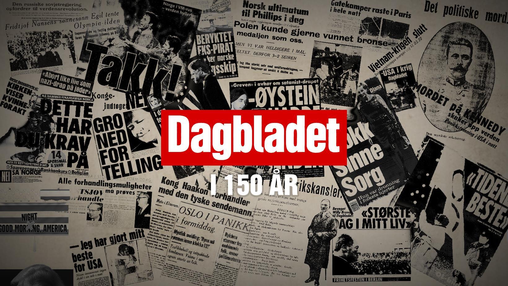 Dagbladet 150 years