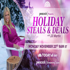 Peacock Presents: Holiday Steals & Deals with Jill Martin