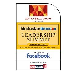 Hindustan Times Leadership Summit 2017