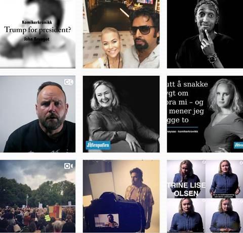 KOMIKERKRONIKK - Comedians contribute to the debate