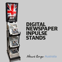 News Corp Australia's Digital Retail Impulse Stands