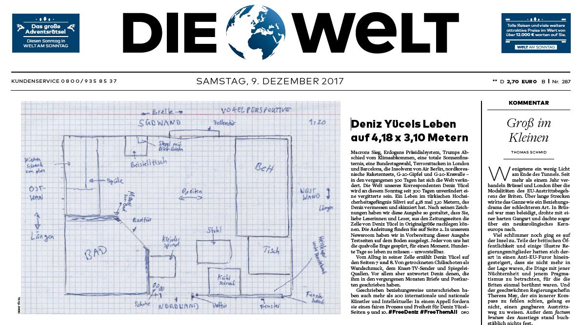 DIE WELT of December 9, 2017