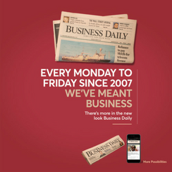 Business Daily Relaunch
