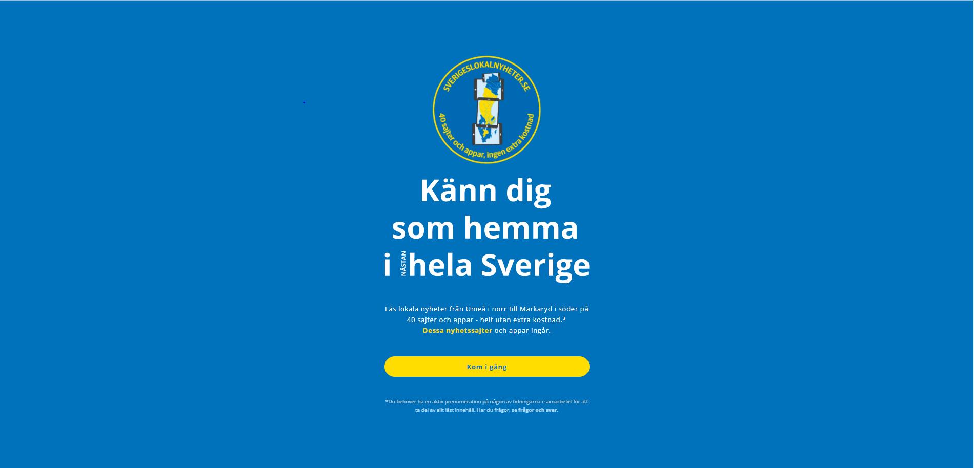 Sveriges Lokalnyheter
