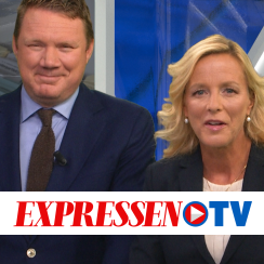 Expressen TV's coverage of the 2018 Swedish general election