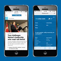 thestar.com, Toronto Star, SMG Digital
