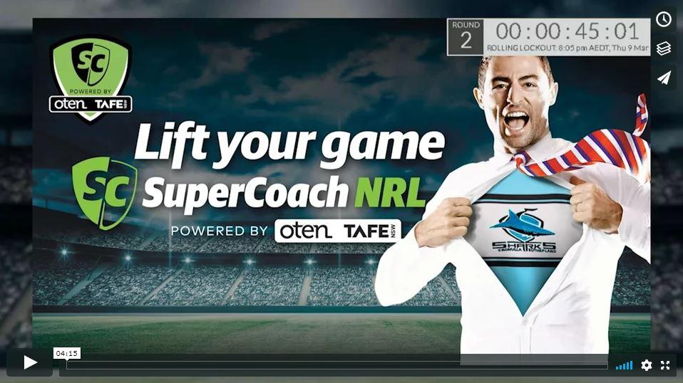 SuperCoach NRL Live Countdown Show