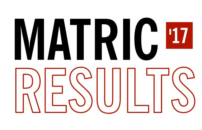 #MatricResults - Class of 2017