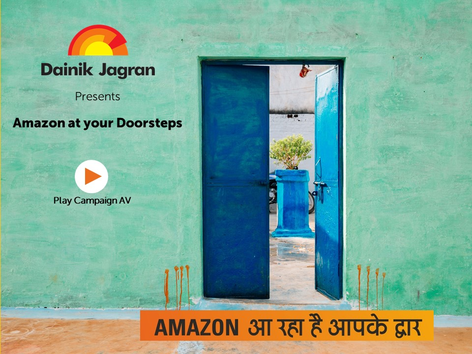 Dainik Jagran – Amazon At Your Doorstep