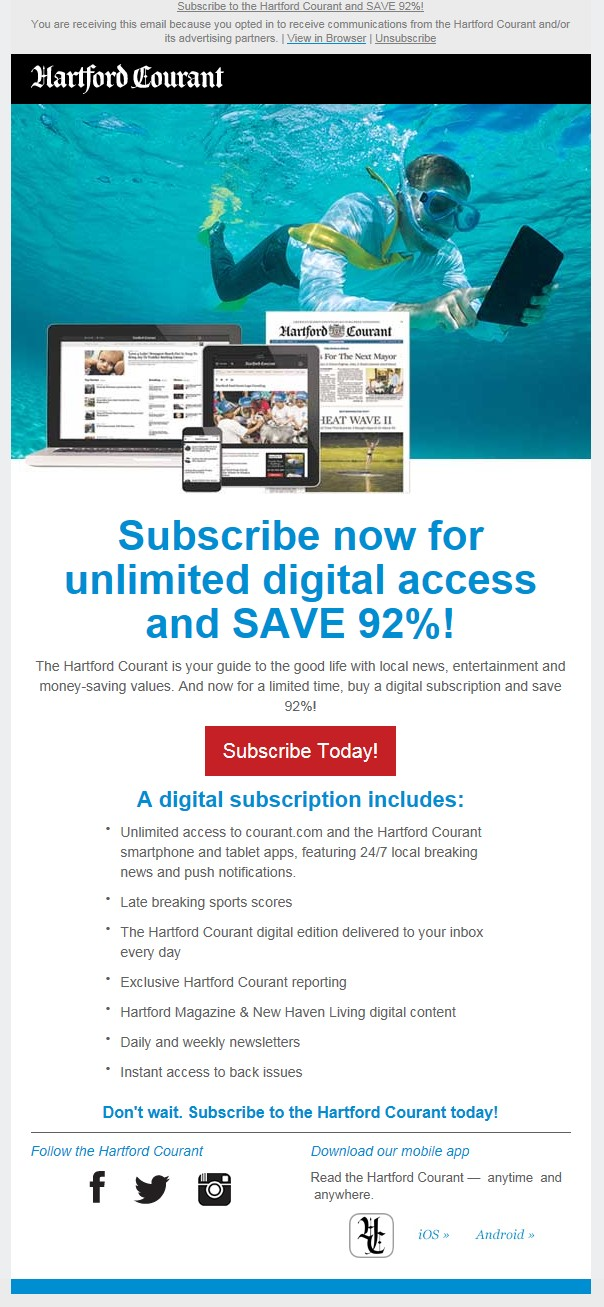 Courant digital access launch and lifecycle marketing curriculum drives registration and engagement