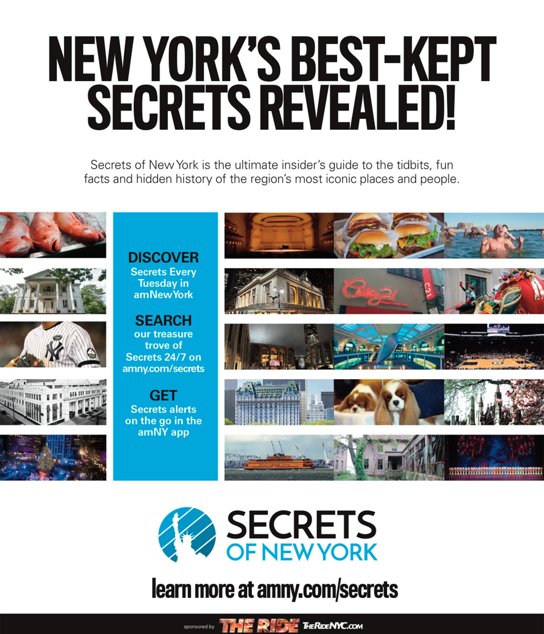amNY Secrets