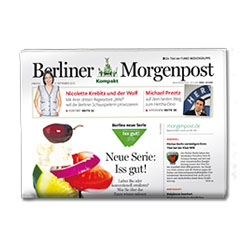 Brand campaign for the launch of Berliner Morgenpost Compact - Category 7