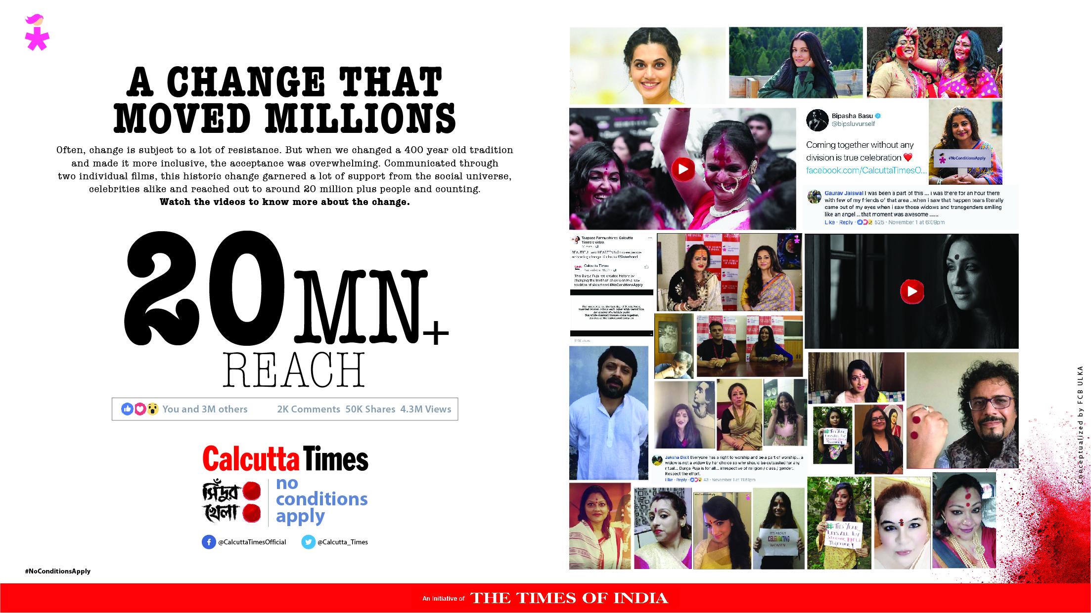 #NoConditionsApply - Shindoor khela - TOI