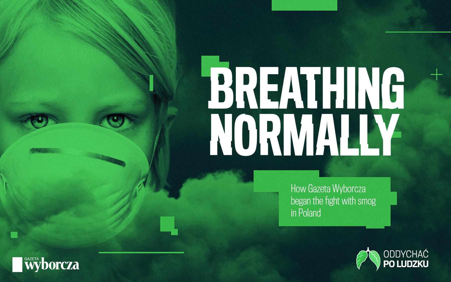 """Breathing Normally – how Gazeta Wyborcza began the fight with smog in Poland"""