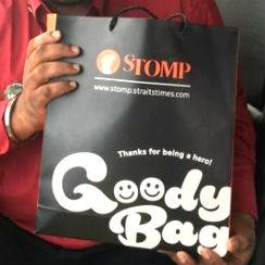 Stomp Goody Bag Campaign