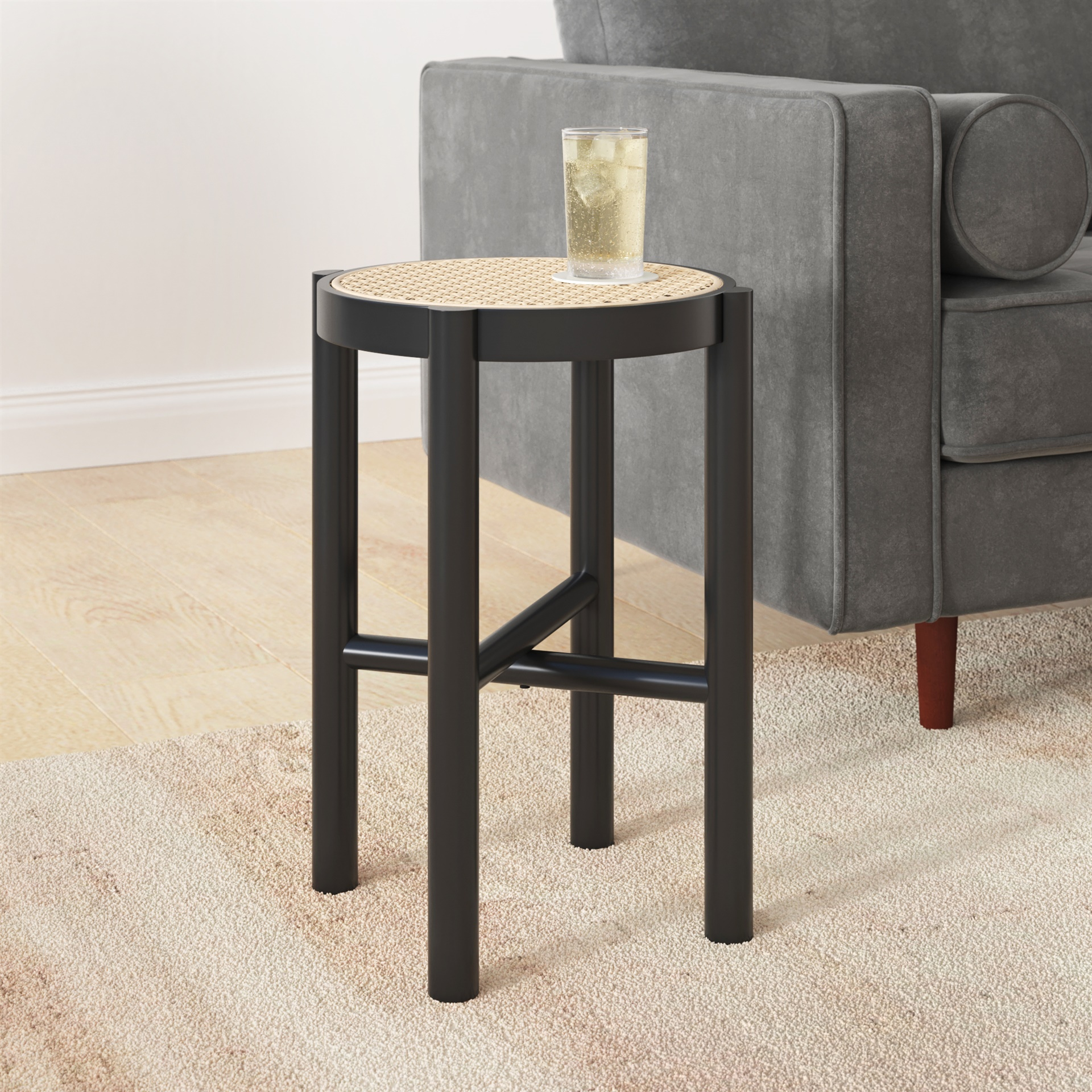 mango wood table, end table, side table, accent table from inmod.com