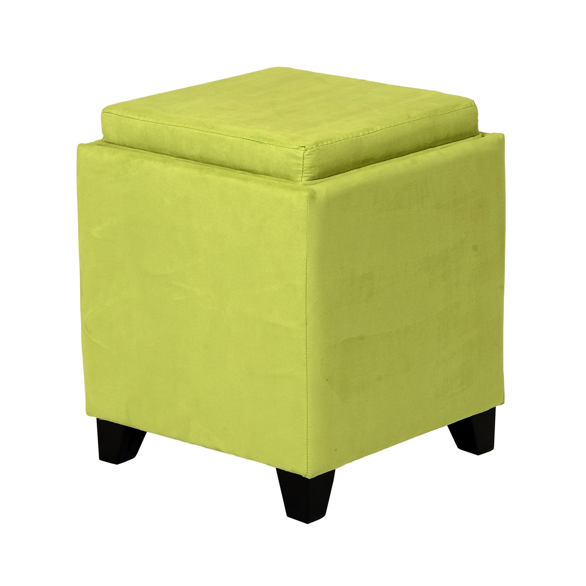 Fabulous Rainbow Microfiber Storage Ottoman With Tray Alphanode Cool Chair Designs And Ideas Alphanodeonline