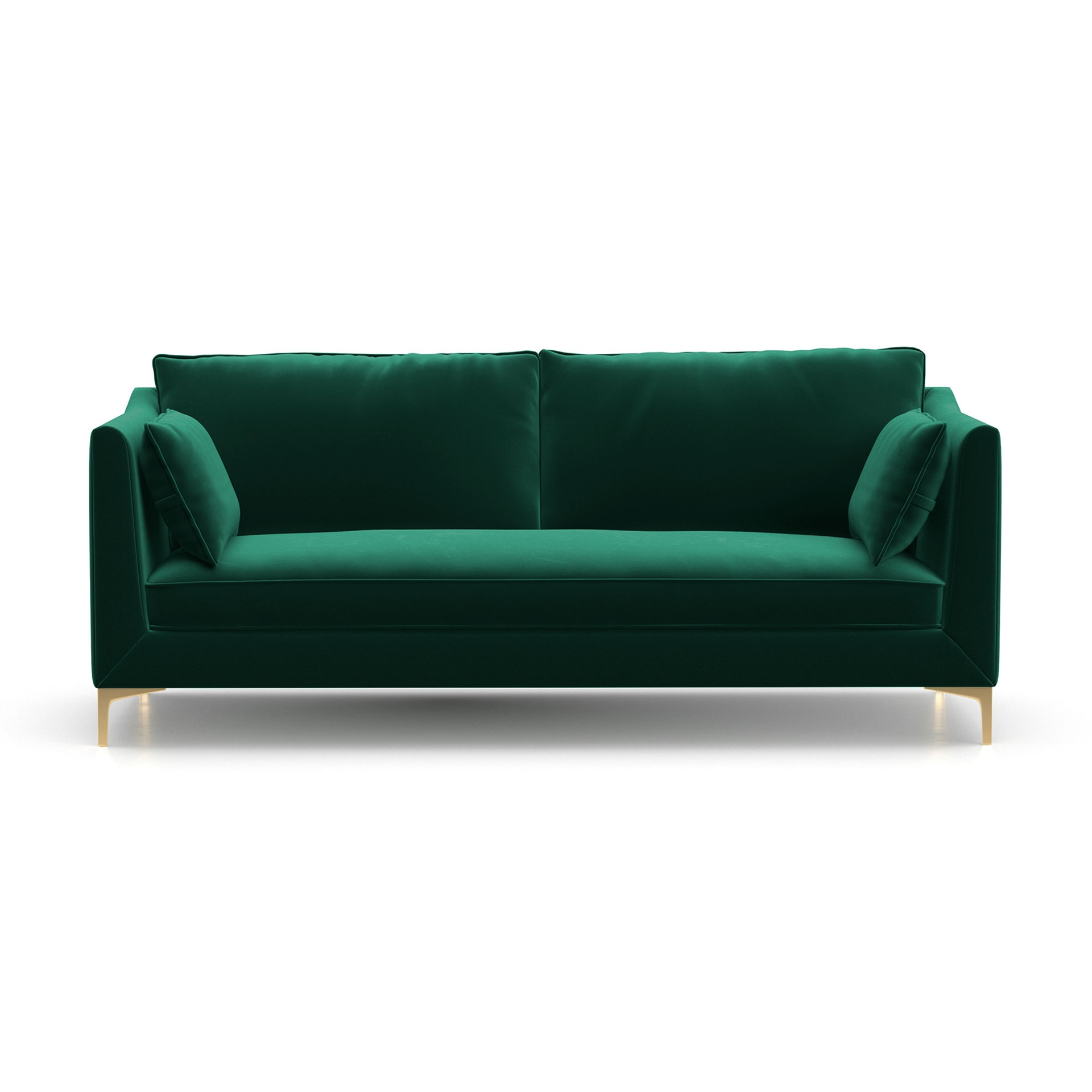 Ashley Velvet Sofa. U003e
