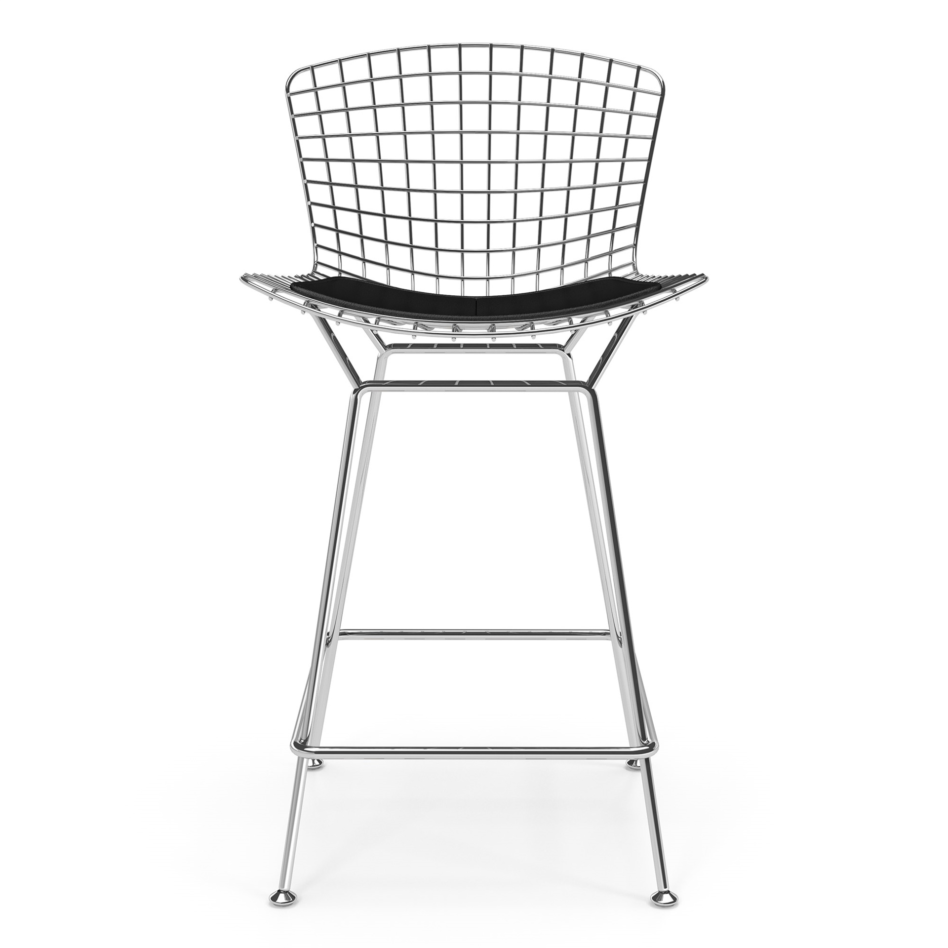 Phenomenal Bertoia Counter Stool Bralicious Painted Fabric Chair Ideas Braliciousco