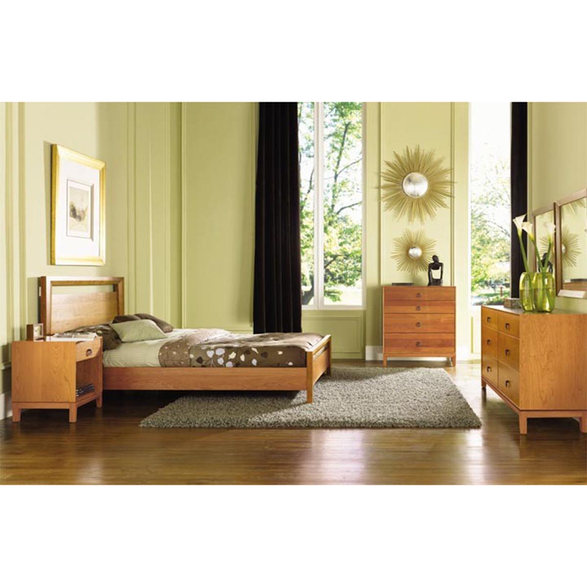 Copeland Furniture Mansfield 4 Piece Bedroom Set
