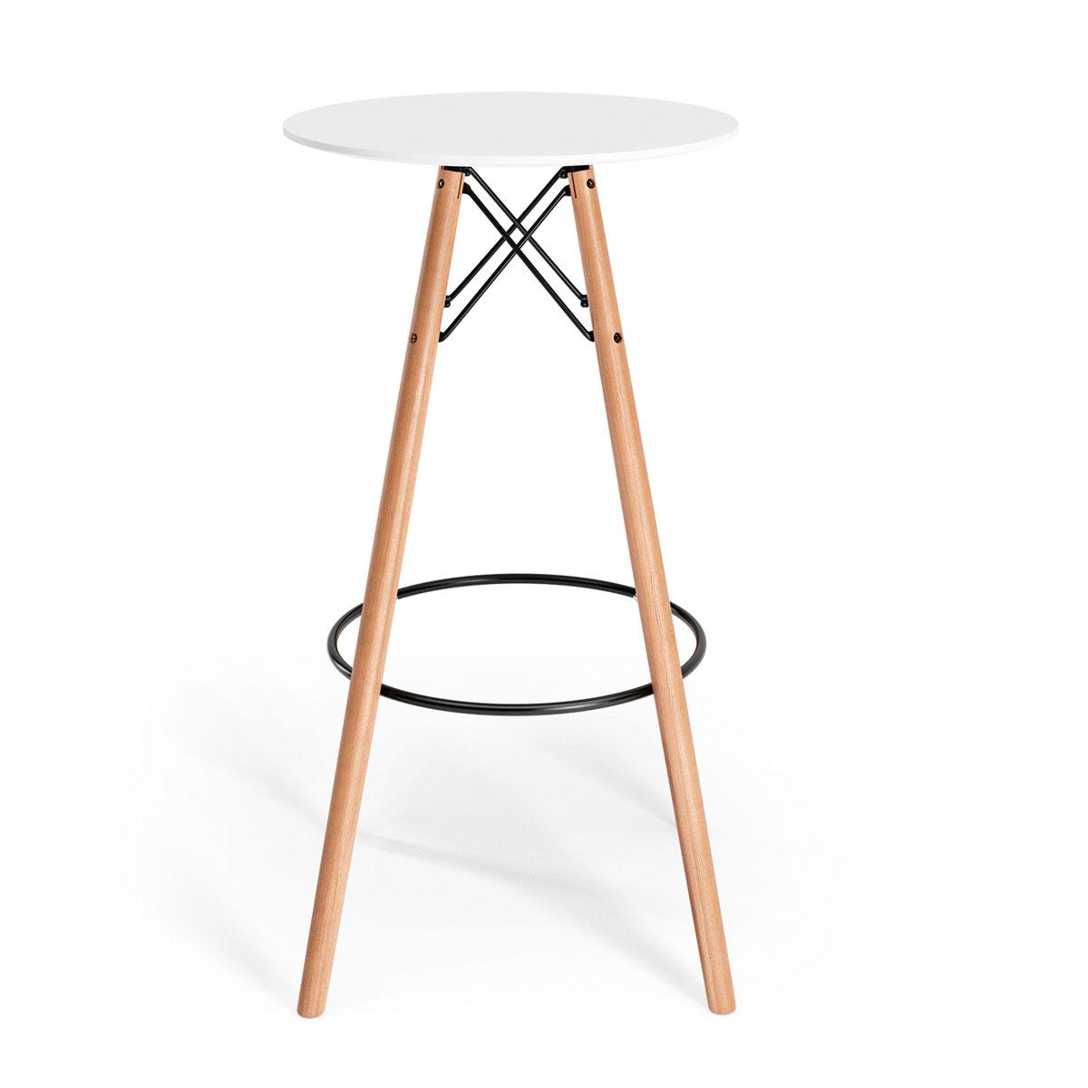 Eiffel Round Bar Table - Cheap round bar table