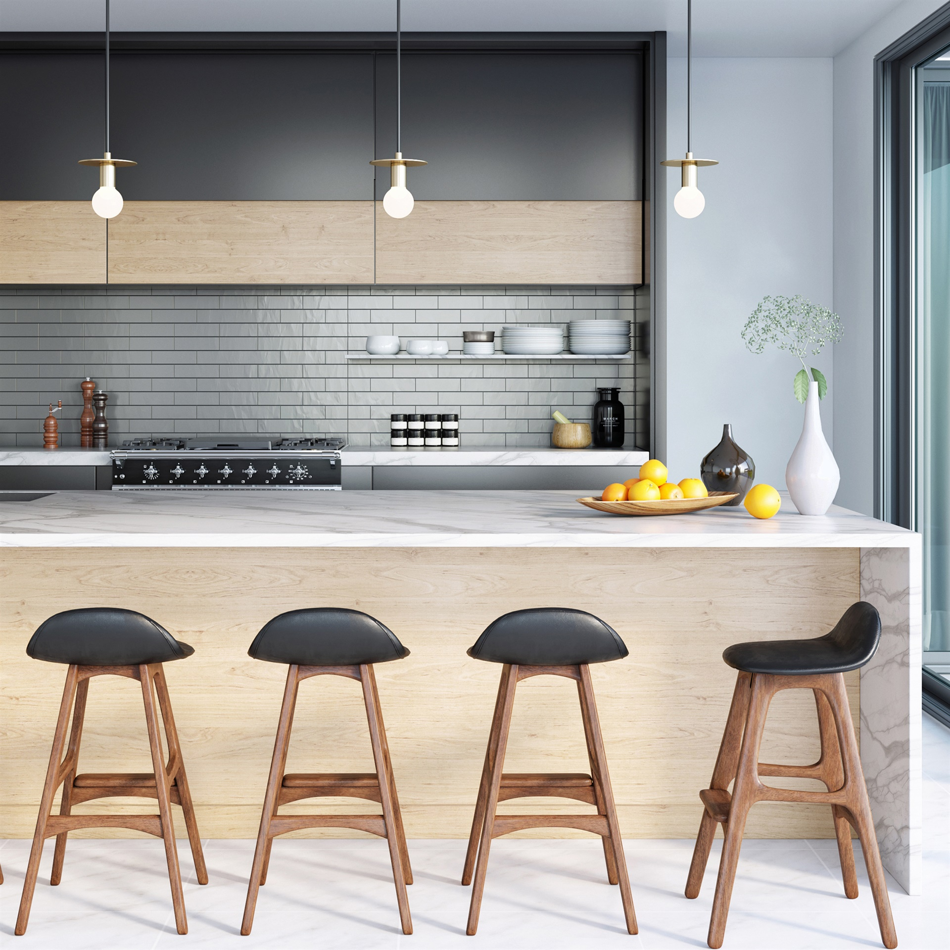 Swell Erik Buch Counter Stool Uwap Interior Chair Design Uwaporg