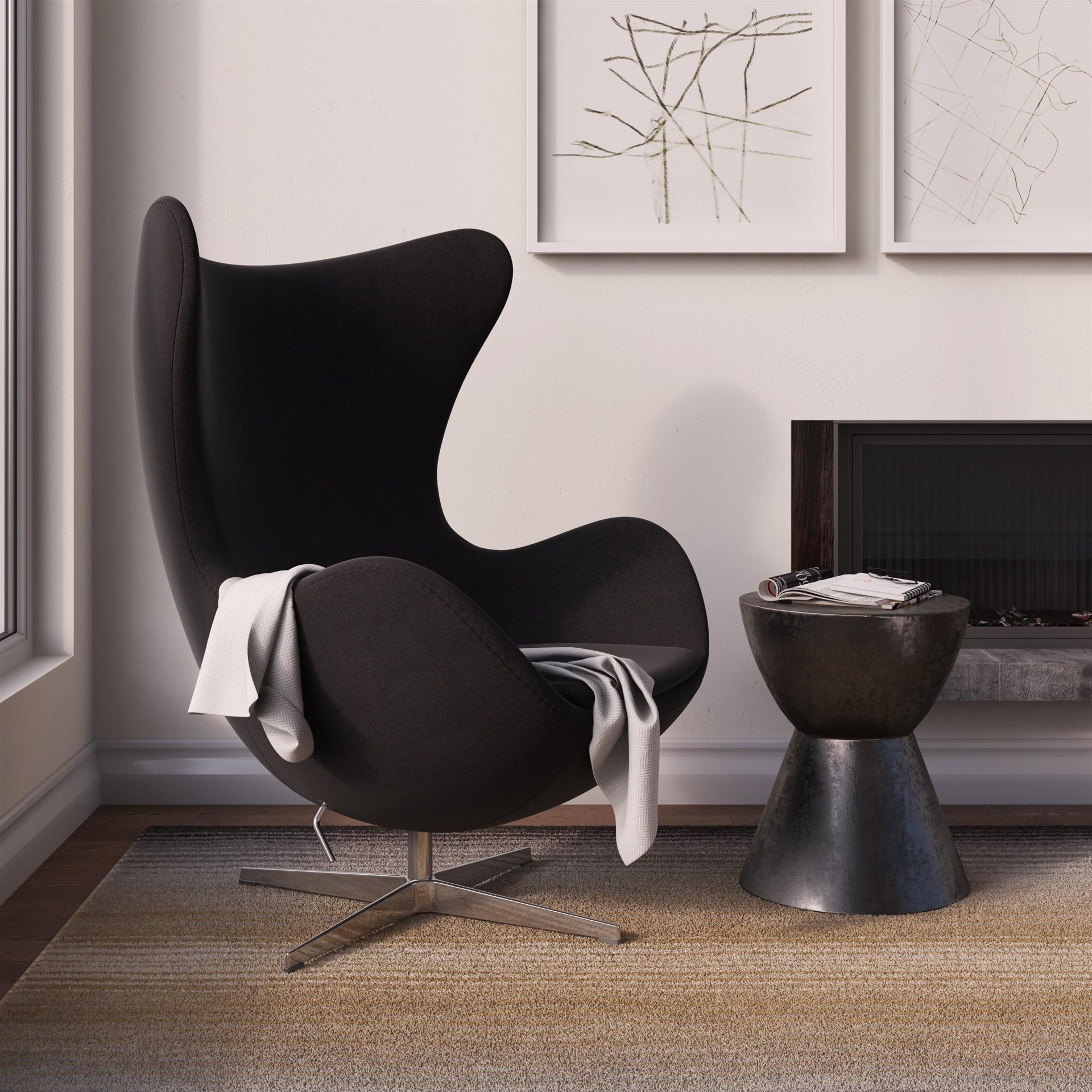 Egg Chair Arne Jacobsen Kopie.Jacobsen Egg Chair