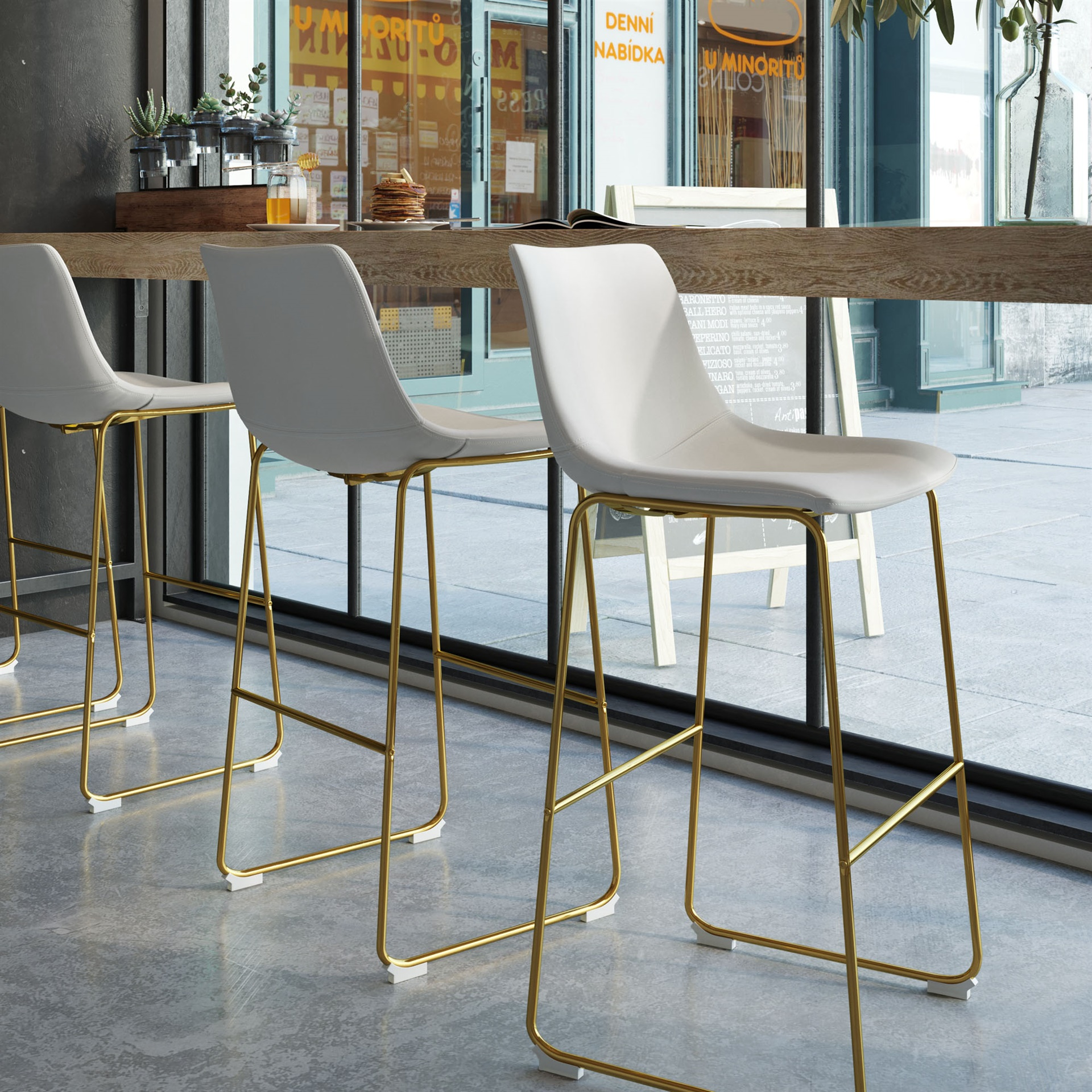 Remarkable Kiersten Bar Stool Gmtry Best Dining Table And Chair Ideas Images Gmtryco
