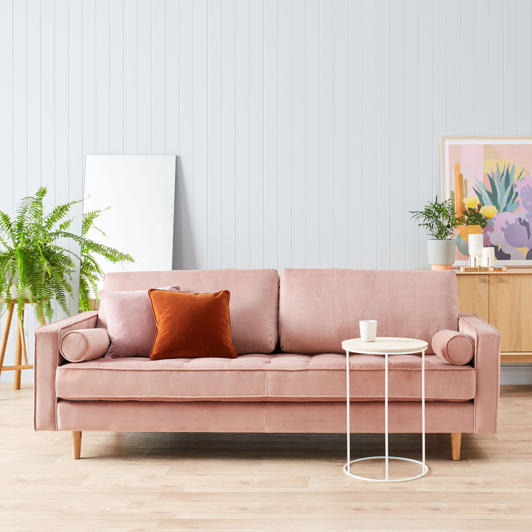 Matilde Velvet Sofa