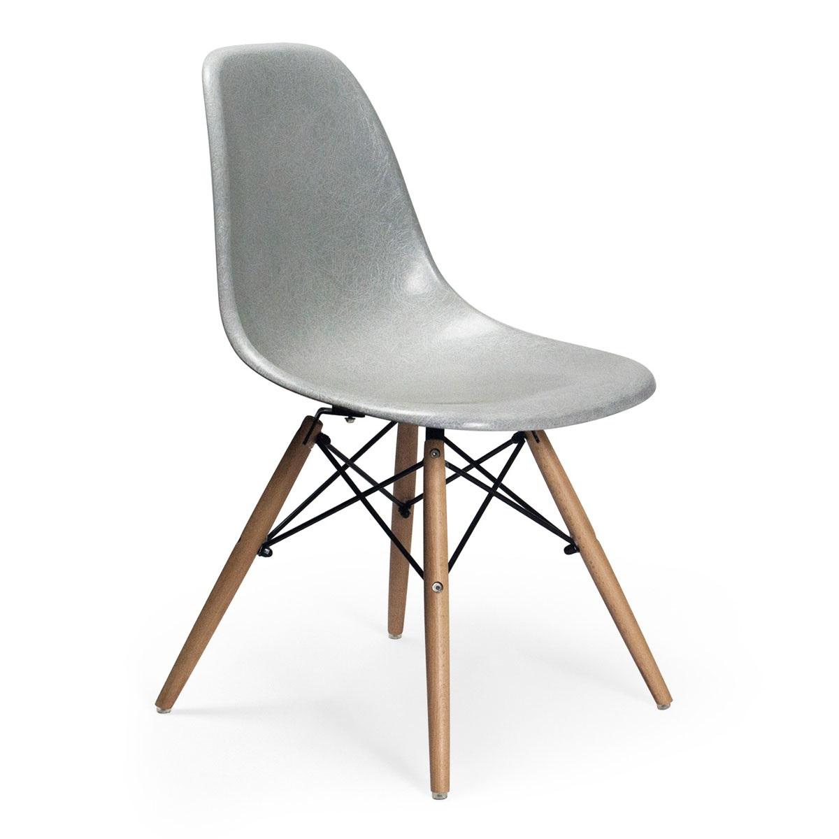 molded fiberglass chair dfsw