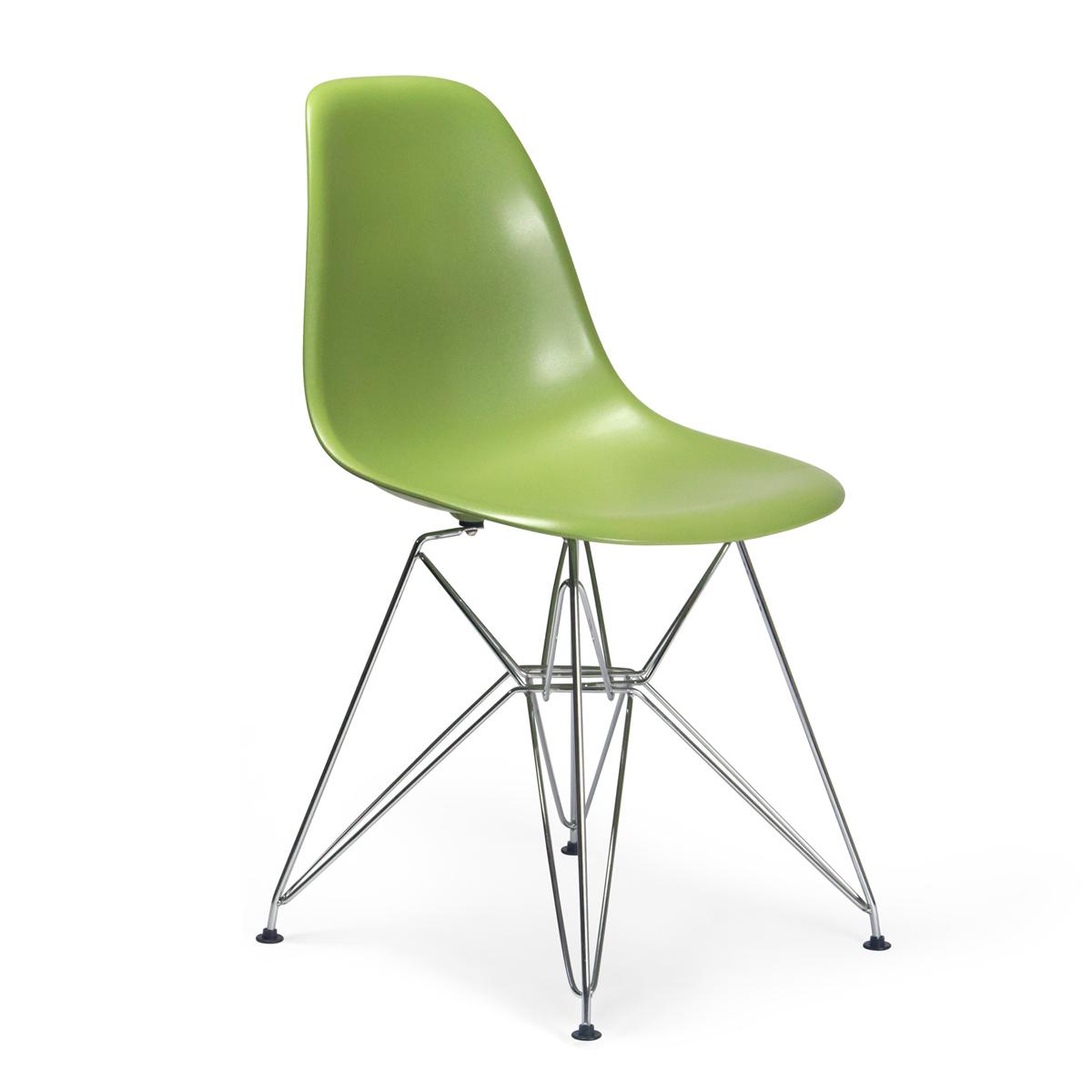 Molded Plastic Eiffel Side Chair