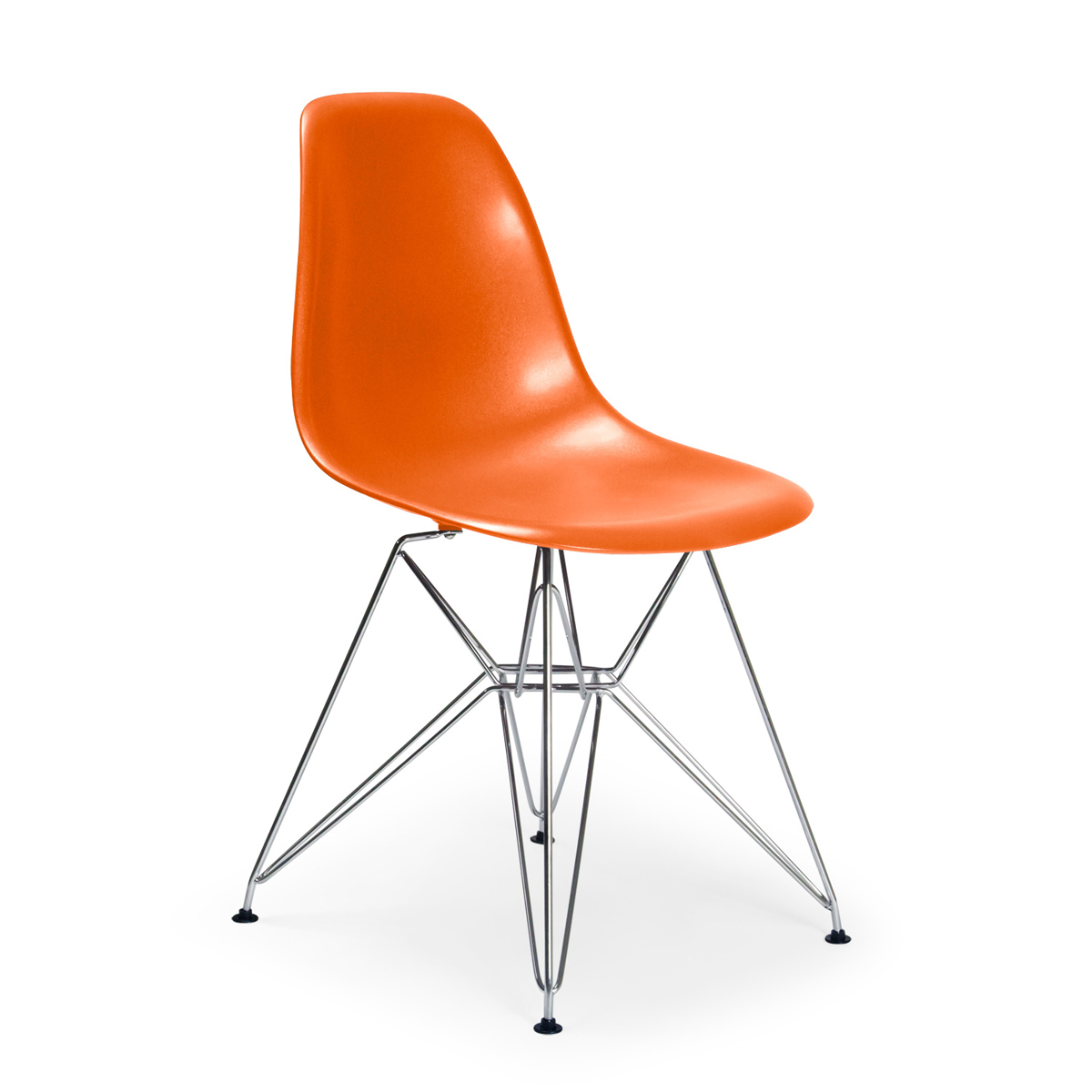 Superieur Molded Plastic Eiffel Side Chair. U003e