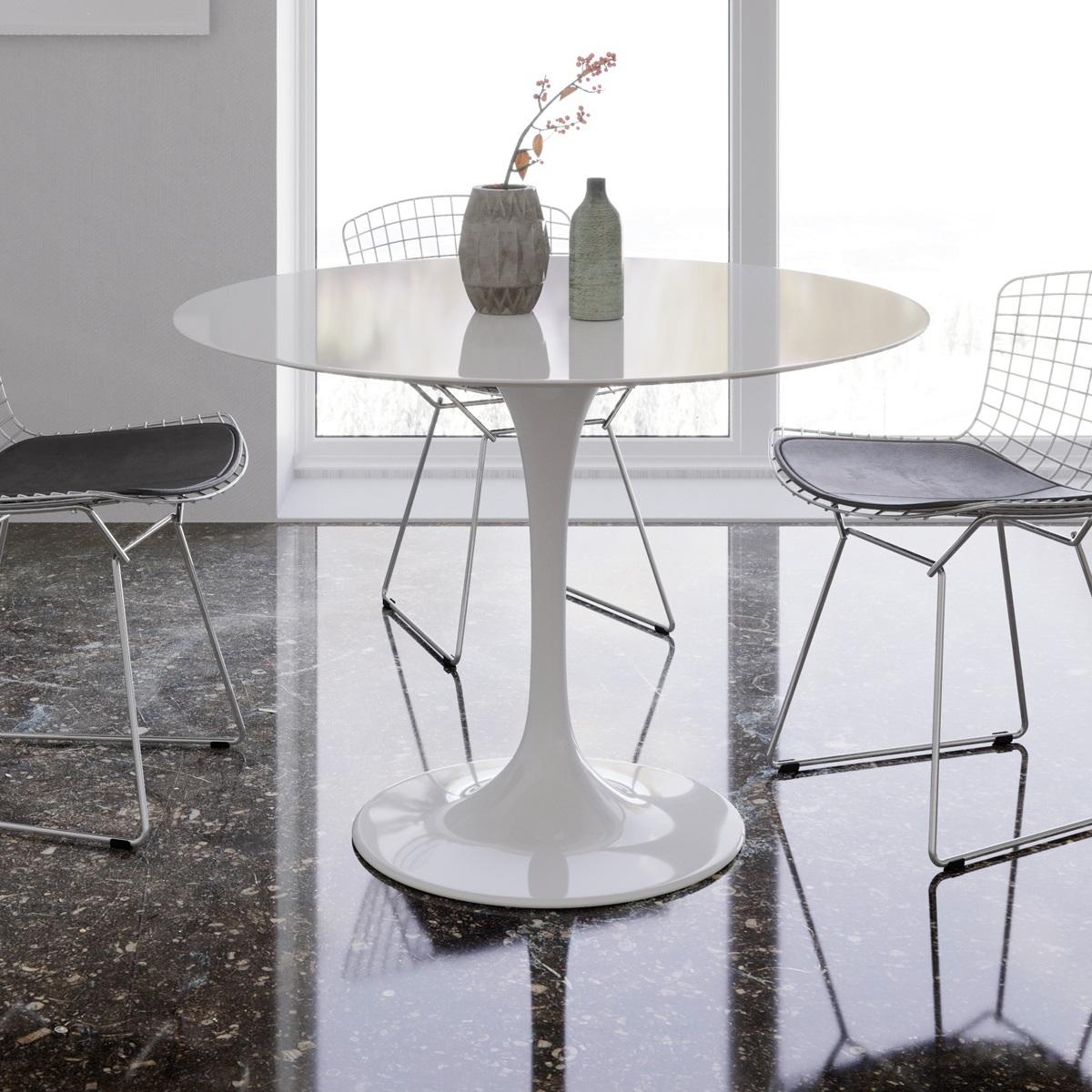 Saarinen Tulip Round Dining Table - Saarinen table top only