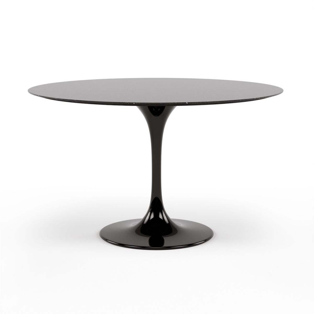 Saarinen Tulip Round Marble Dining Table - Eames marble table