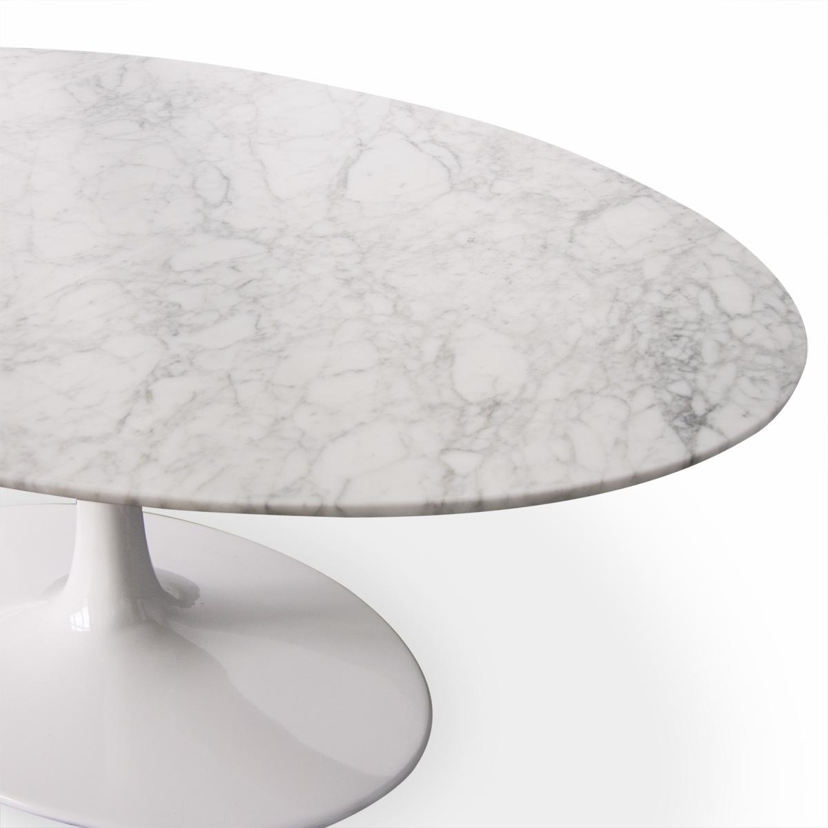 Saarinen Tulip Oval Marble Coffee Table