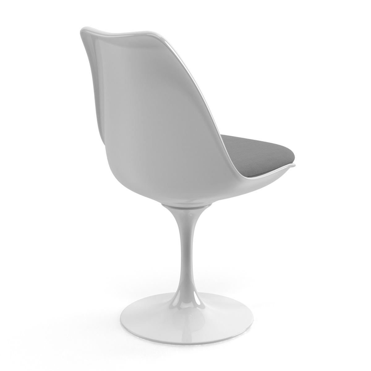 Stupendous Saarinen Tulip Side Chair Customarchery Wood Chair Design Ideas Customarcherynet