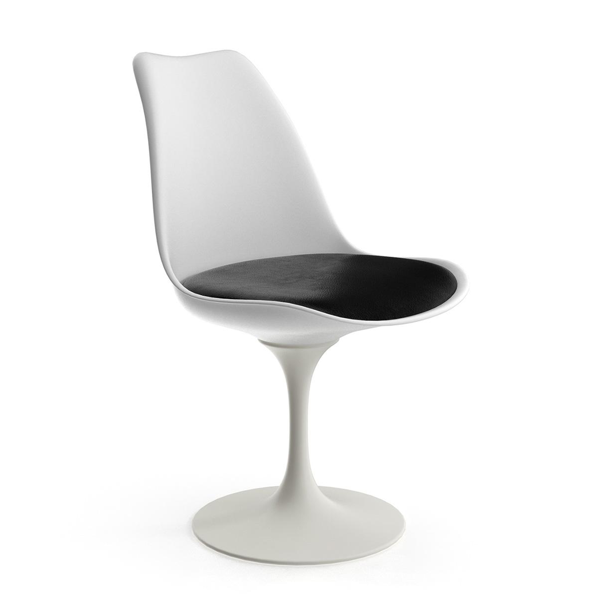 saarinen style tulip side chair