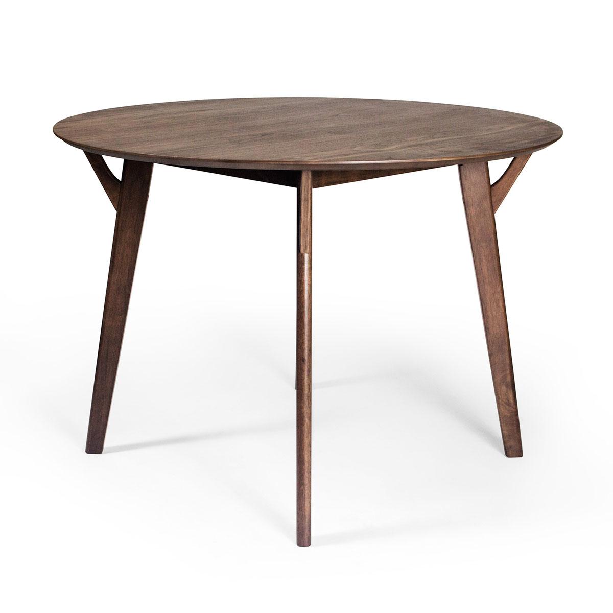 Scandi Round Dining Table. U003e