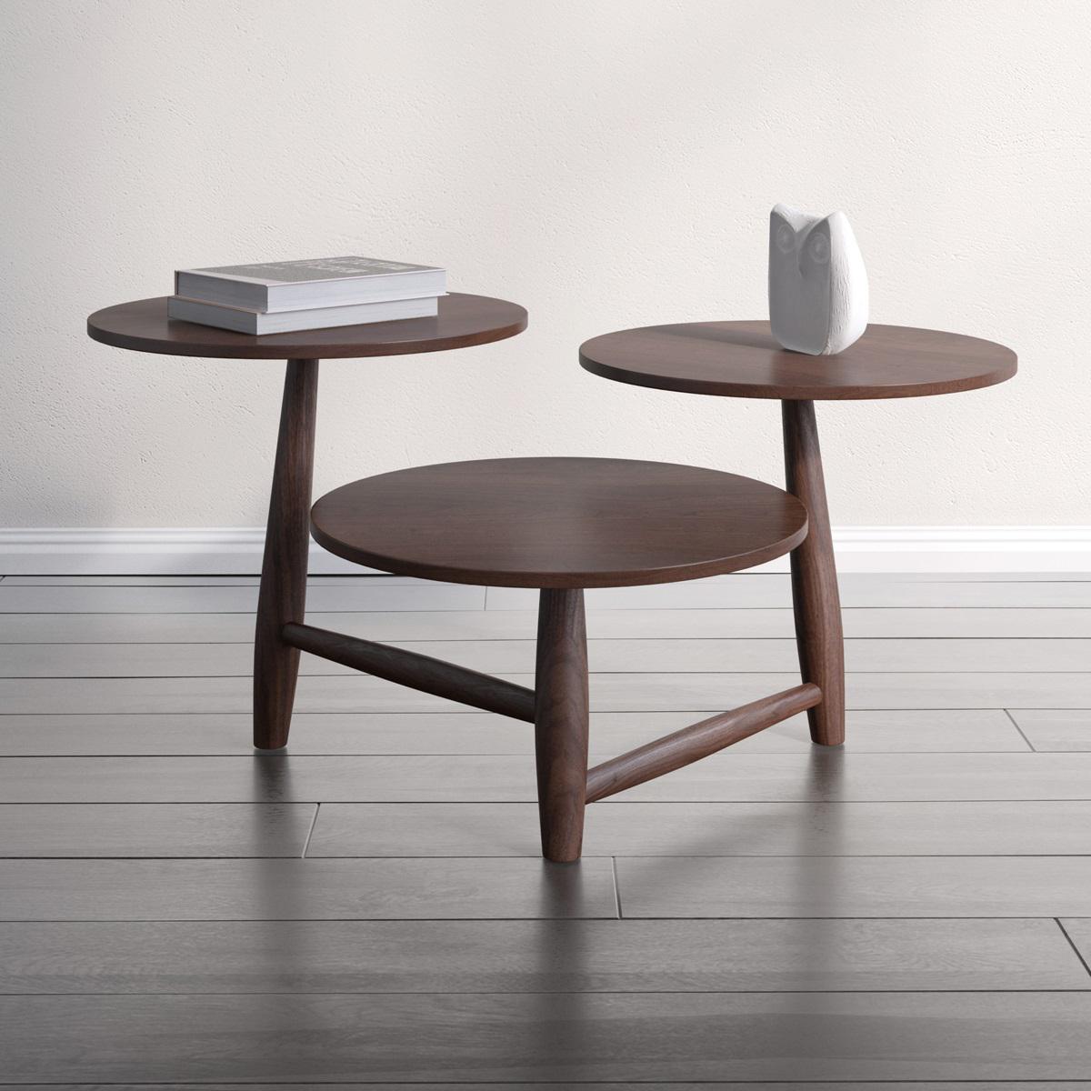 Charmant Sean Dix Tripod Coffee Table
