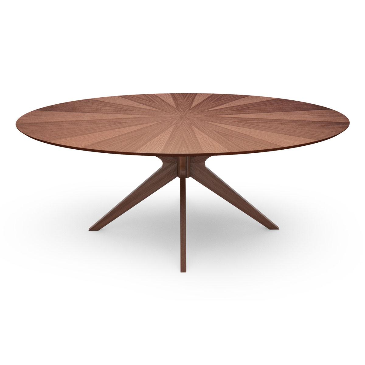 Starburst Oval Dining Table. U003e