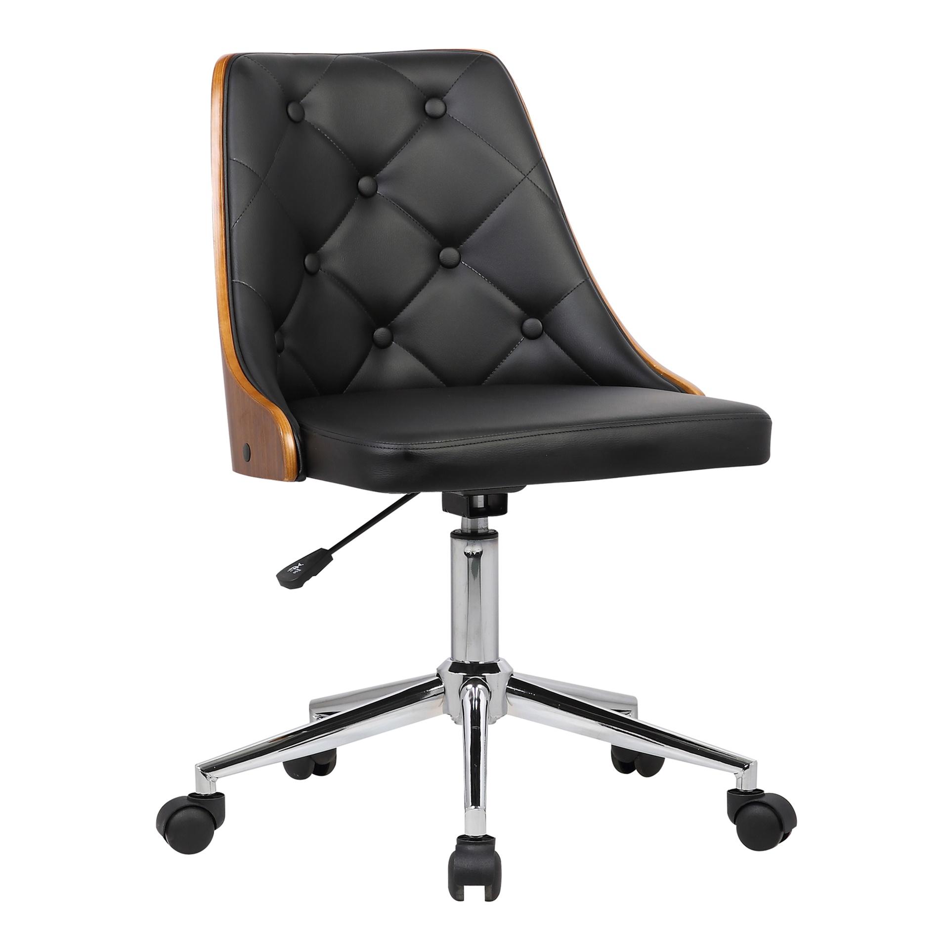 Modern Upholstered Leatherette Denise Office Chair Denise Inmod