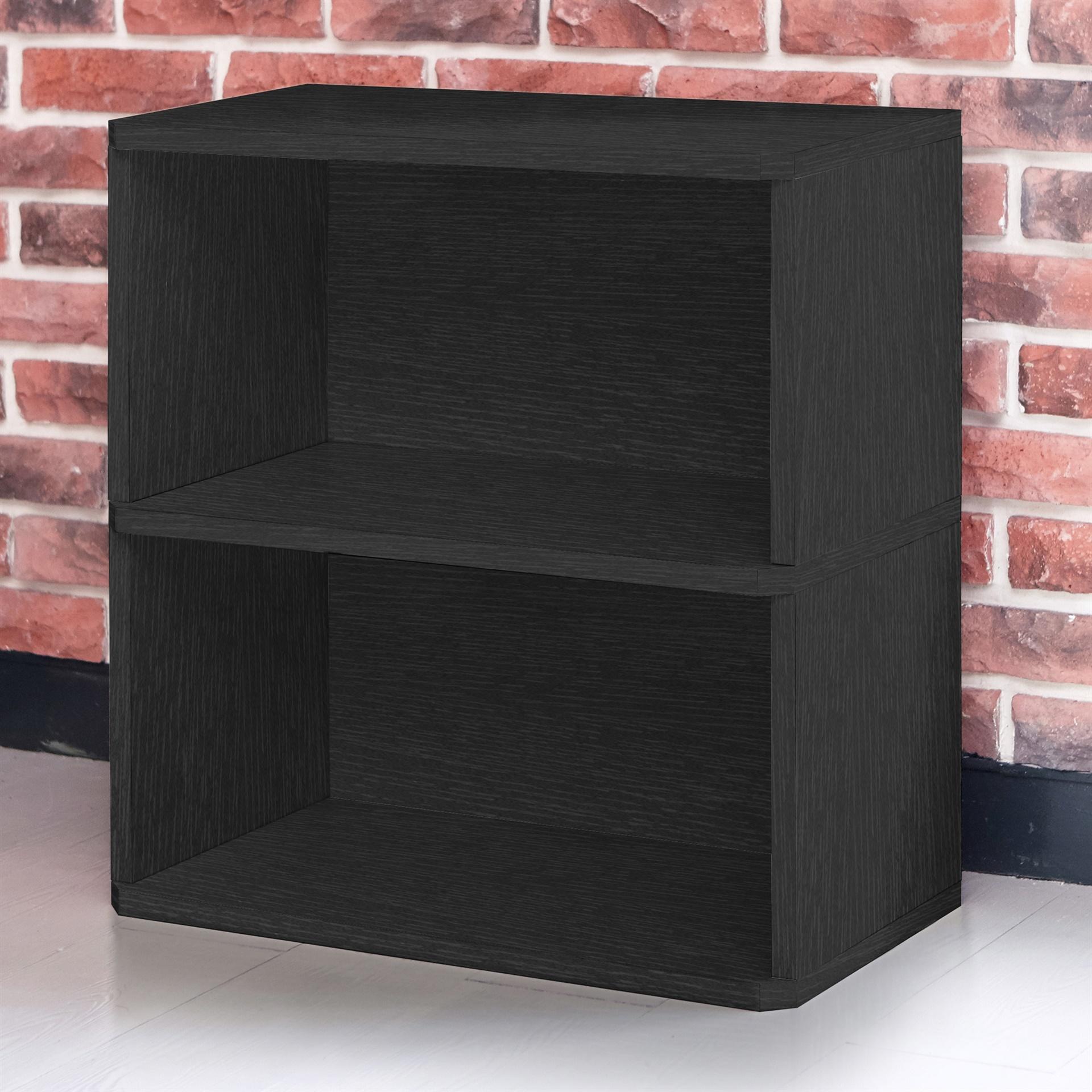 Way Basics Eco Friendly Webster 2 Shelf Bookcase